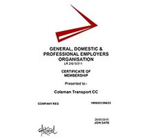 General, Domestic & Professional Employers Organisation