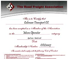 The Road Freight Association